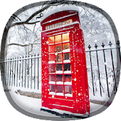 Snow In London Live Wallpaper