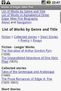 works of edgar allen poe mobilereference