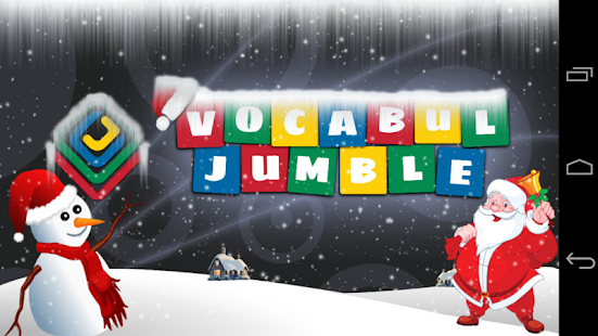 Vocabul Jumble (Word Jumble)- screenshot thumbnail