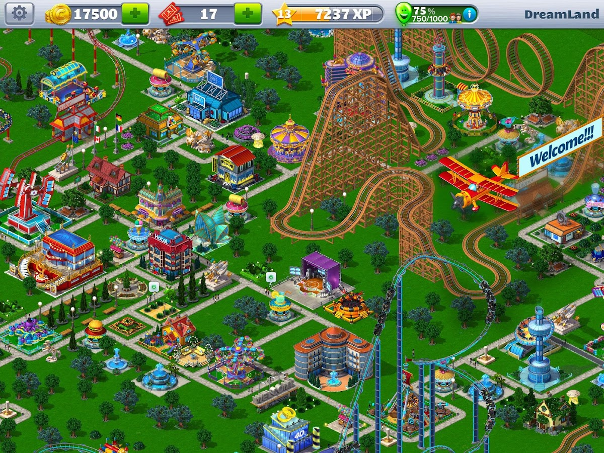 play rollercoaster tycoon online free