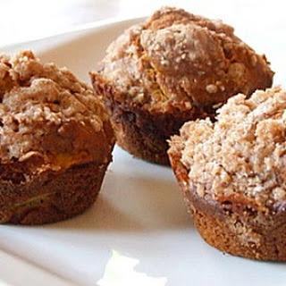 Pumpkin- Apple Streusel Muffins