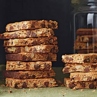 Chocolate-Walnut-Graham Cracker Bars.
