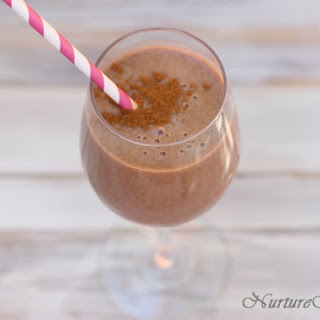 Chocolate Coconut Smoothie.