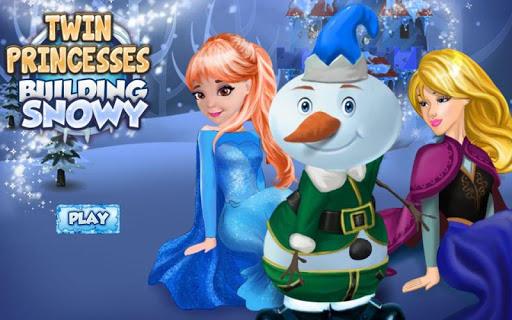 Princesses and Snowman