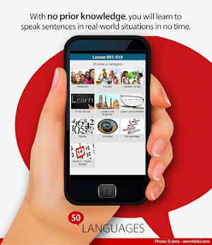 Learn 50 languages- screenshot thumbnail