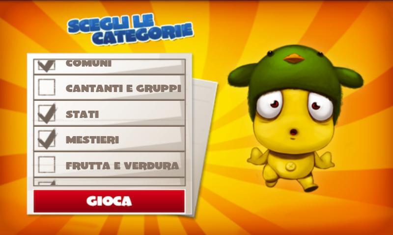 Nomi Cose Città 2 ONLINE Lite- screenshot
