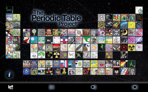 The periodic table project apps on google play screenshot image urtaz Gallery