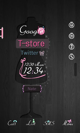 CUKI Theme Black AND Pink