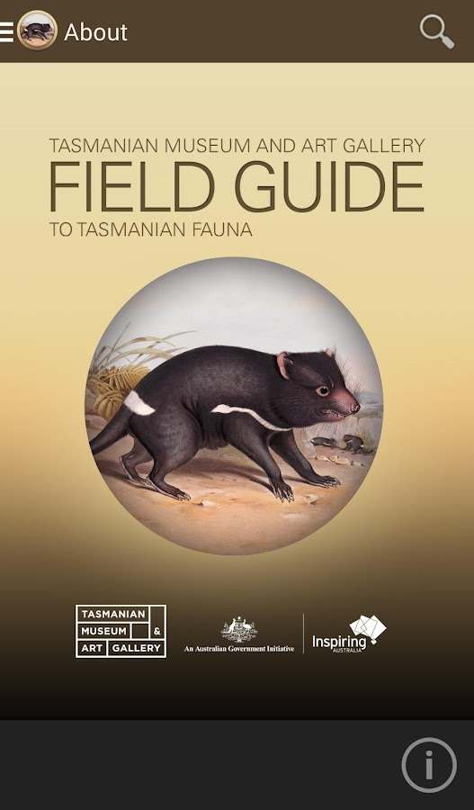 Field Guide to Tasmanian Fauna- screenshot