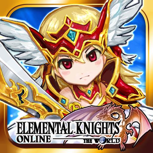 RPGエレメンタルナイツオンライン【ロールプレイング】 角色扮演 App LOGO-APP試玩