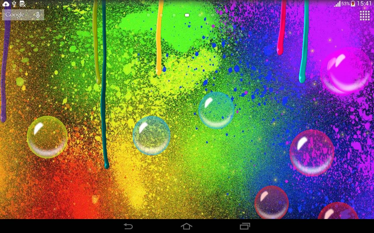 touch screen mobile live wallpaper