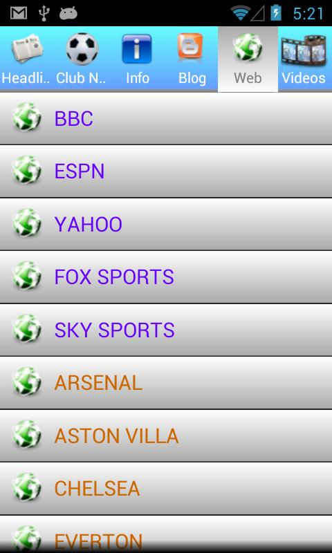 UK Premier League 2014 - screenshot