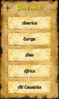 Screenshot of Quiz: Geo World