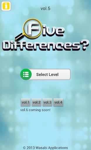 Five Differences? vol.5 1.0.6 Windows u7528 4