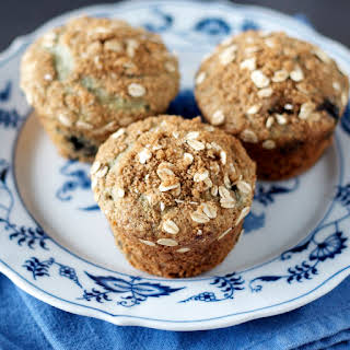 Blueberry Oat Muffins.