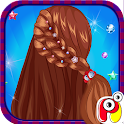 Crazy Hair Braid Salon icon