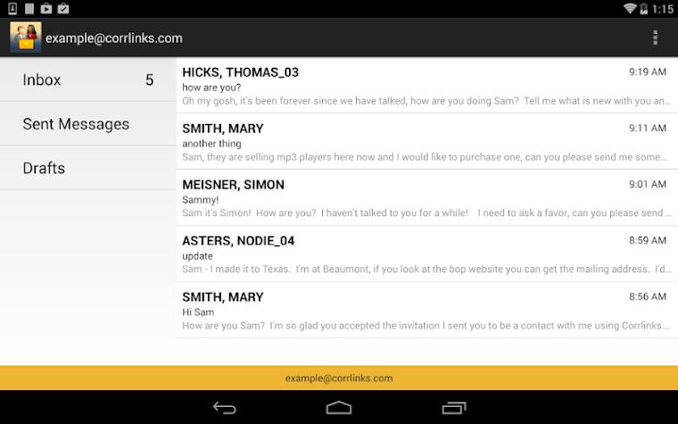 CorrLinks Screenshot