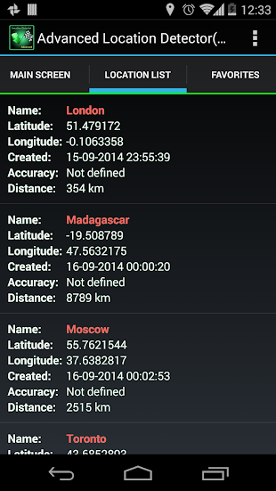 AdvancedLocationDetector (GPS)- screenshot thumbnail