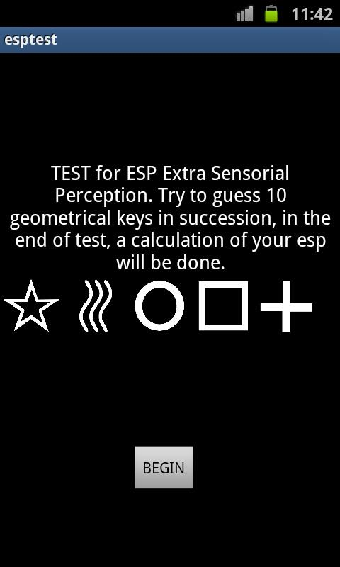 Esp Test- screenshot