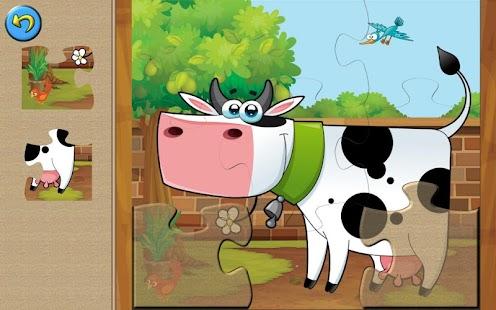 Fun Farm Puzzle for Kids Lite