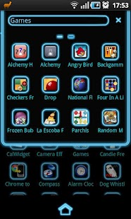 Blue Light GO Launcher Theme - screenshot thumbnail