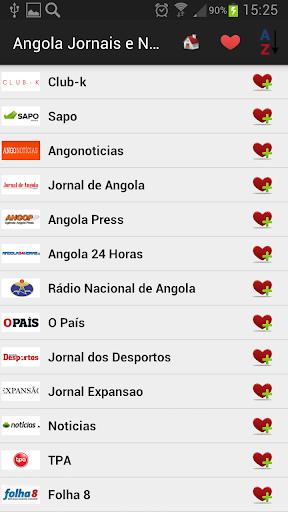 Angola Newspapers And News