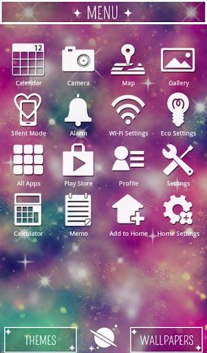Galaxy Theme Pink Universe 1.0 Windows u7528 3