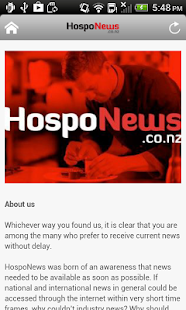 Hospo News- screenshot thumbnail
