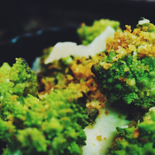Warm Roasted Romanesco with Toasted Bread Crumb