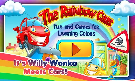 Rainbow Cars! Kids Colors Game- screenshot thumbnail