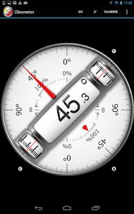 Clinometer + bubble level - screenshot thumbnail