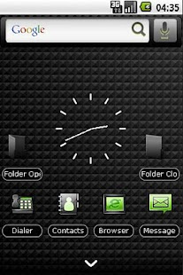 Panda Home Dark & Green Theme - screenshot thumbnail