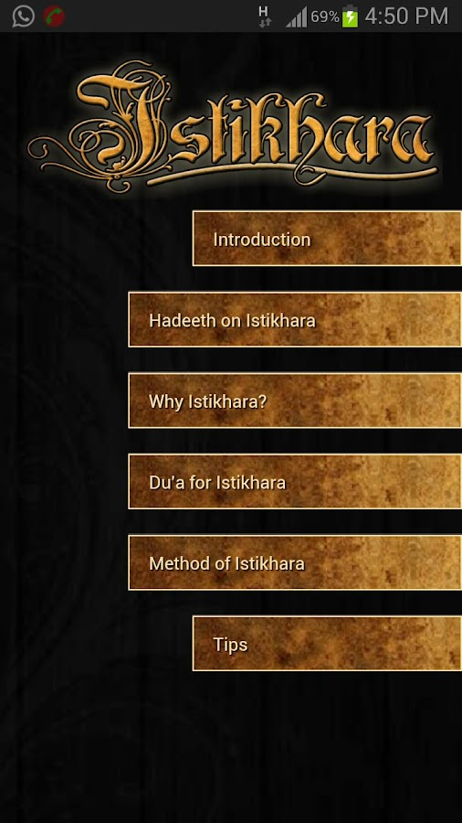 Istikhara- screenshot
