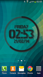 Extreme Clock Pro wallpaper Screenshot