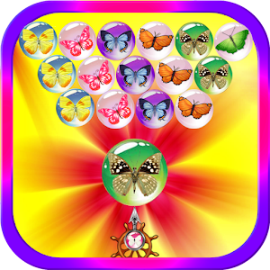 Bubble Shooter Butterfly for PC and MAC