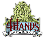 Logo of 4 Hands Peanut Butter Chocolate Milk Stout
