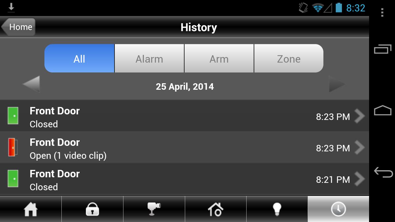 BHN Home Security - screenshot