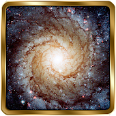 Galaxy Wallpaper GOLD