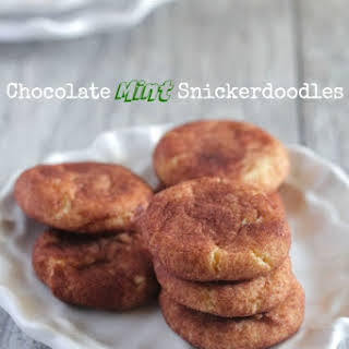 Chocolate Mint Snickerdoodles.