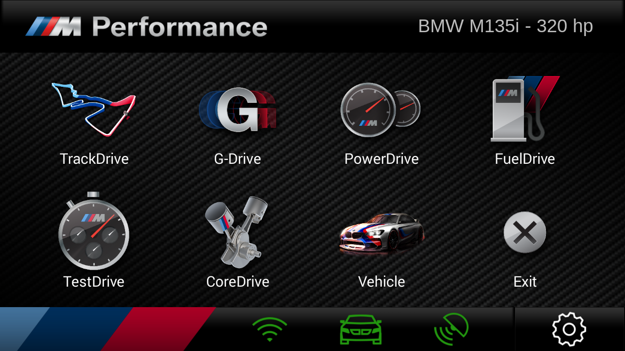 M Performance Drive Analyser- screenshot