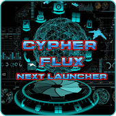 Next Launcher Theme CypherFlux