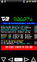 Screenshot of DR/TV2 Tekst TV Pro