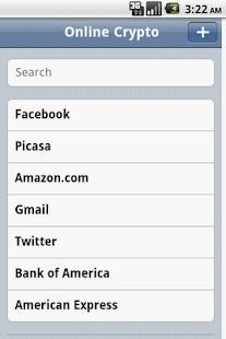 Online Crypto Password Manager- screenshot thumbnail