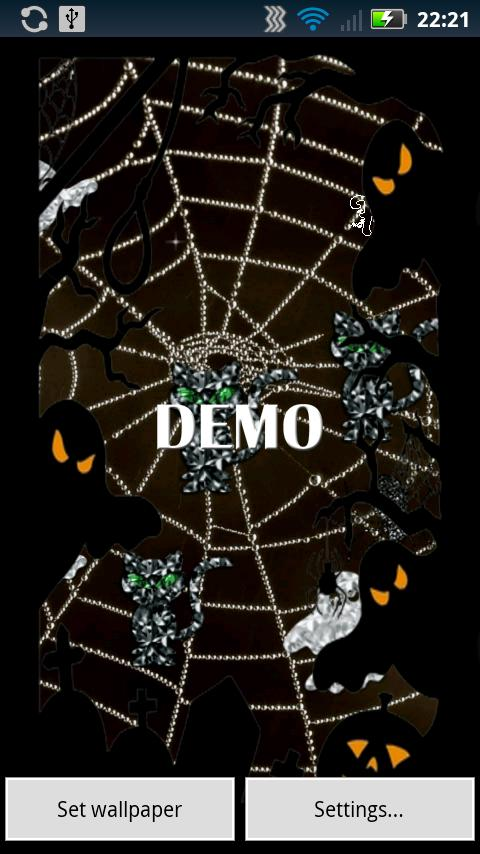 Halloween Diamonds DEMO live - screenshot