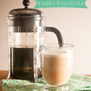 Frothy Vanilla Macchiatos