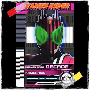 Kamen Rider Decade Soundboard
