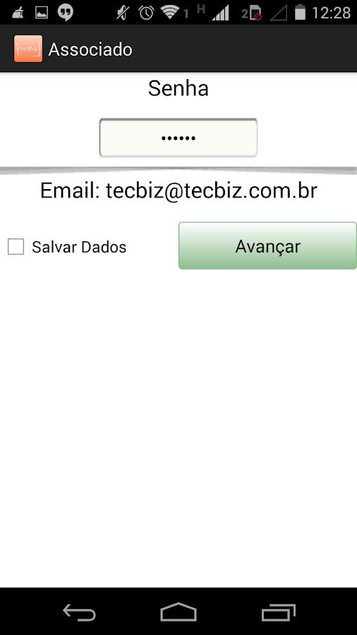 TecBiz Associado- screenshot