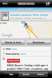 Napa Valley #1 Downloaded App! - screenshot thumbnail