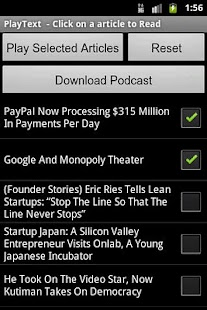 PlayText - Podcaster - screenshot thumbnail
