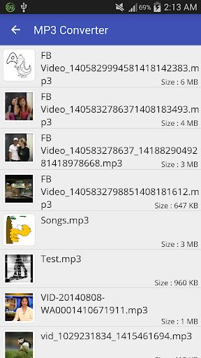 Video to MP3 Converter - MP3 Tagger 1.6.0 screenshots 4